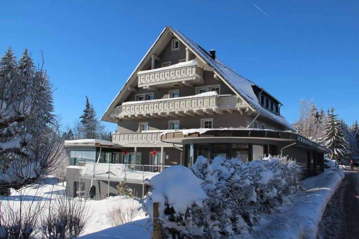 Das Seminarhotel im Hochschwarzwald im Winter
