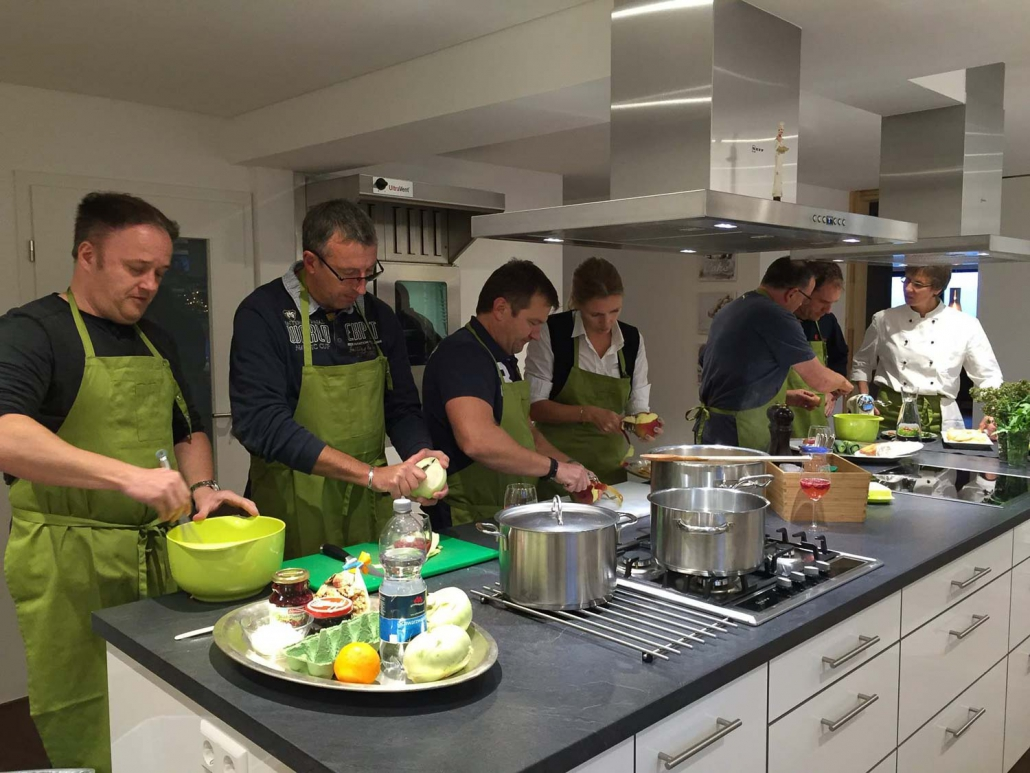 Koch-Events für Gruppen
