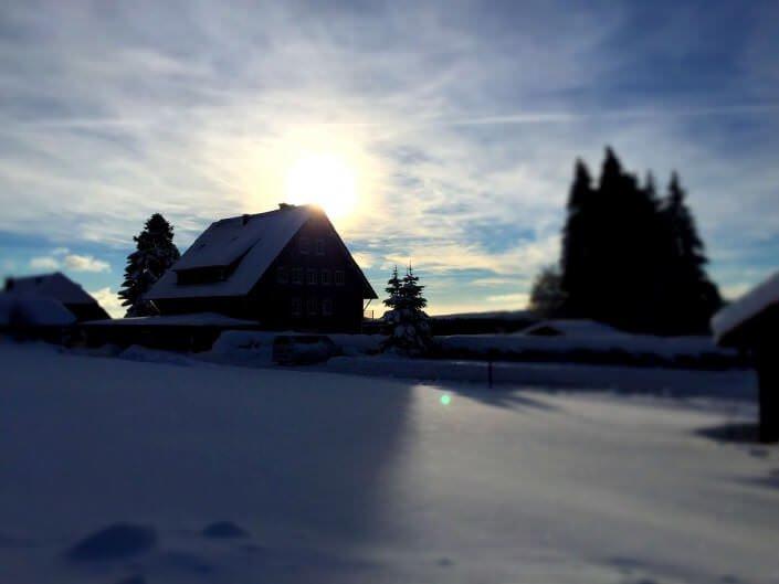 Winterschlaf im Hochschwarzwald