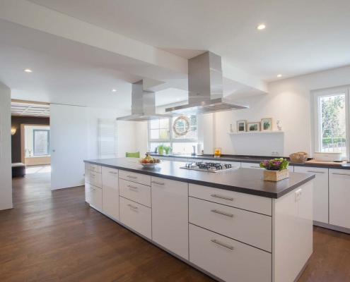 Gross genug Küche für Koch-Events im Seminarhaus