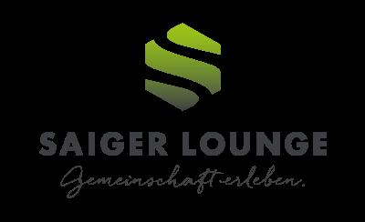 Logo Saiger Lounge – Seminarhaus: Gemeinschaft erleben für Teambuilding, Yoga-Retreats, Management-Runden
