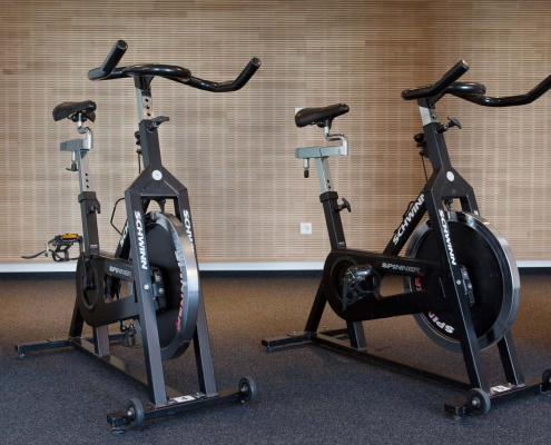 Fitnessgeräte im Seminarhotel
